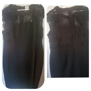 Ashley Graham beyond dress black lace ,size 20